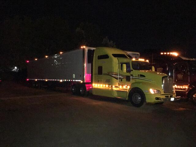 Jeff's big rig, first picture.