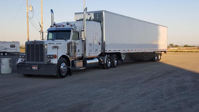 Jerry's big rig, second picture.
