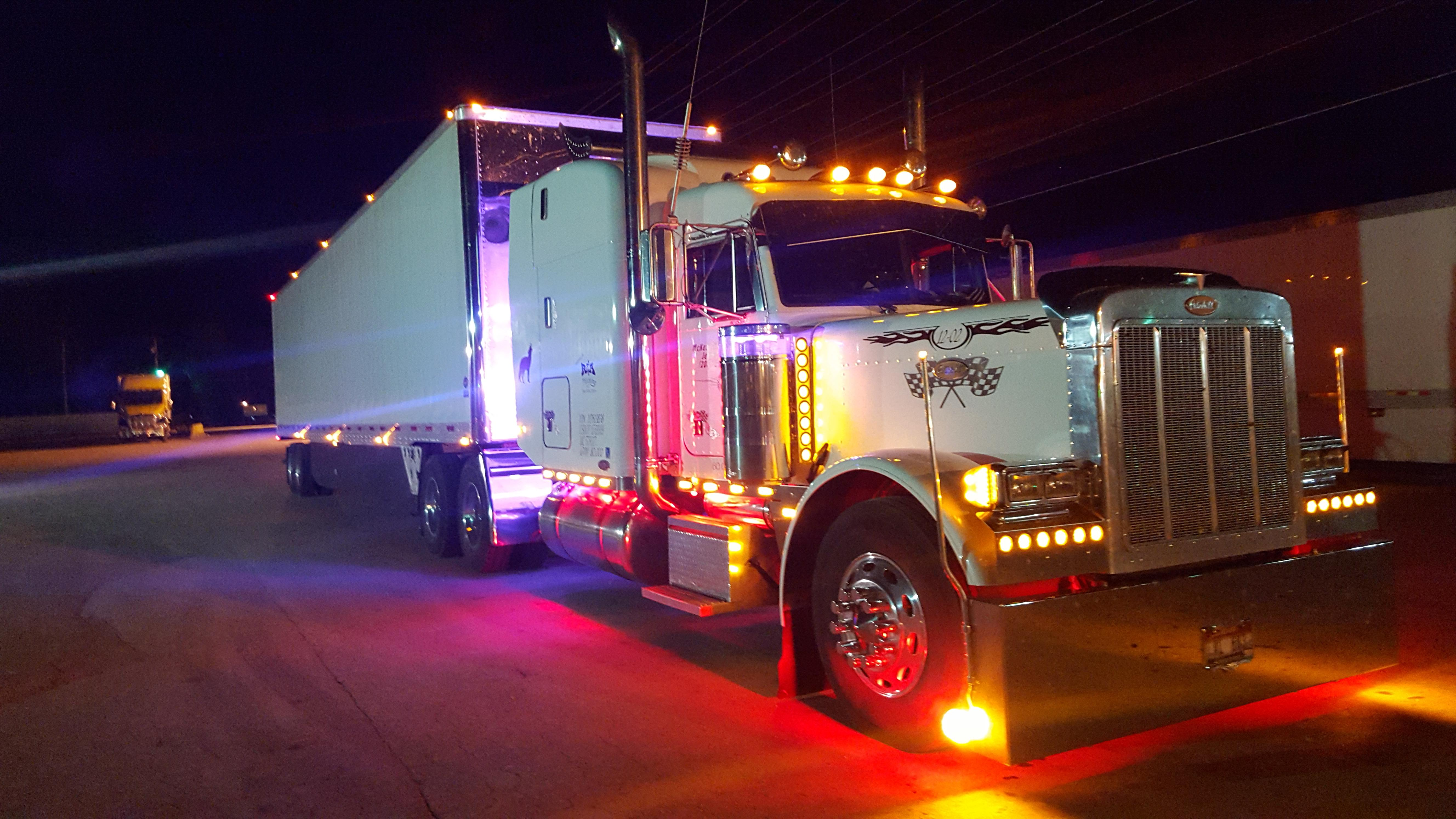 Jerry's big rig, third picture.