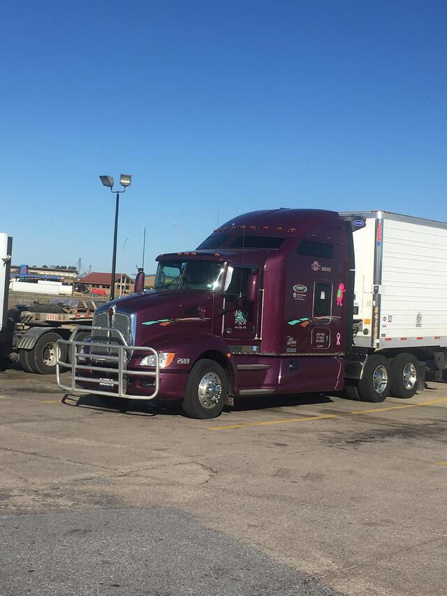 Keith's big rig, first picture.