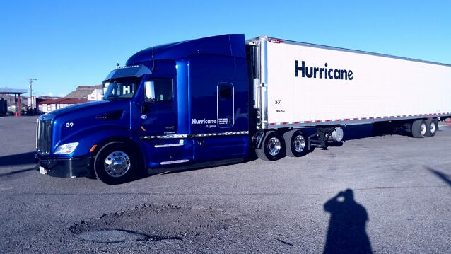 Michael's big rig, first picture.