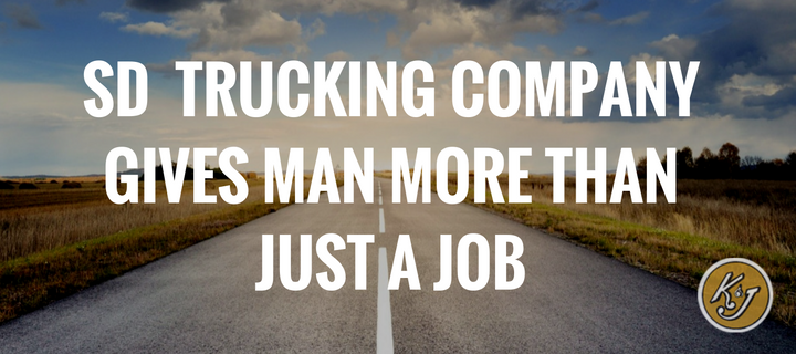 More than just a trucking job